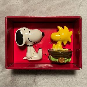🧂Peanuts Snoopy Figural Salt & Pepper Shakers